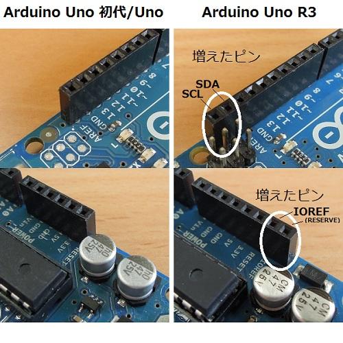 Arduino UNO R3 ピンが多い