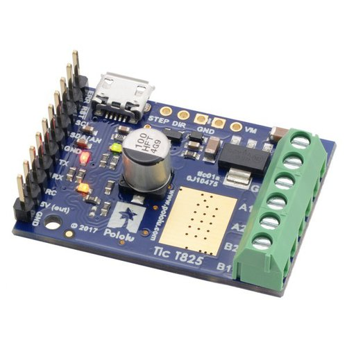Tic T825 USBマルチインターフェース ステッピングモーターコントローラ