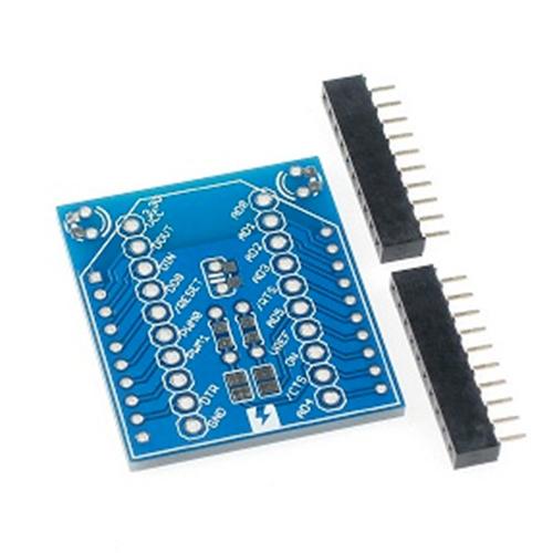 XBeeピッチ変換基板とソケットのセット