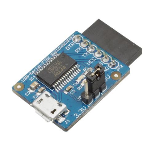 FTDI USBシリアル変換アダプター(5V/3.3V切り替え機能付き)
