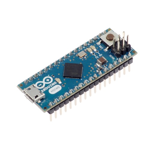 Arduino Micro 5V 16MHz (ATmega32u4 - ピンヘッダ付き)
