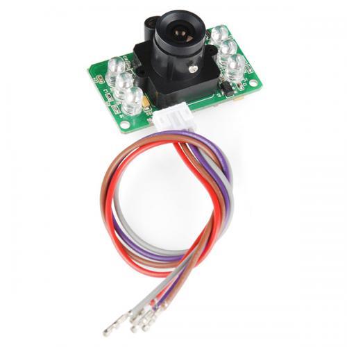 LinkSpriteシリアル接続JPEGカラーカメラ(赤外線LED付き)