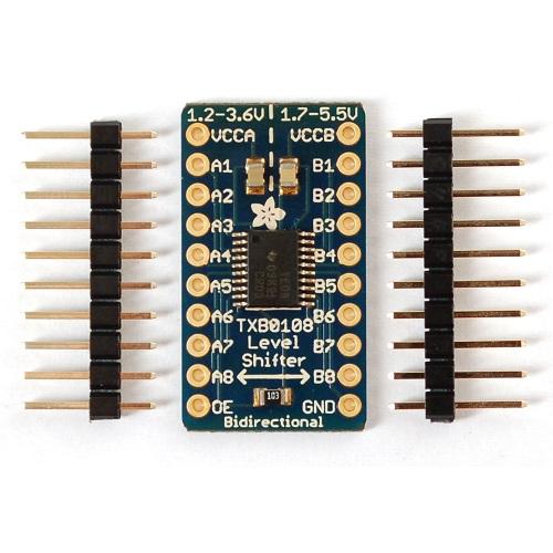 TXB0108搭載8CH双方向ロジックレベルコンバータ