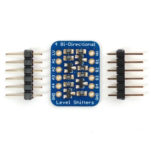 BSS138搭載4CH-I2C用双方向ロジックレベルコンバータ