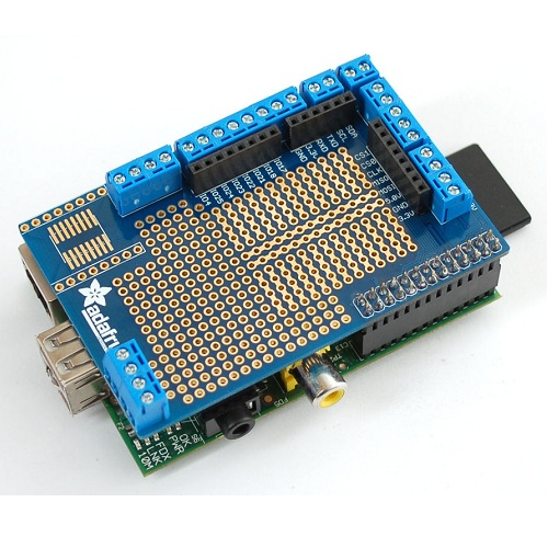 Adafruit Raspberry Pi用プロトタイプ基板キット(パイプレート)