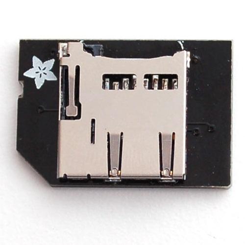Raspberry Pi用 短いmicroSDカードアダプタ--在庫限り