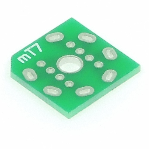 真空管ブレッドボードアダプタ mT7基板タイプ