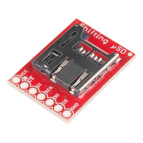 レベルシフト回路搭載 microSDブレークアウト