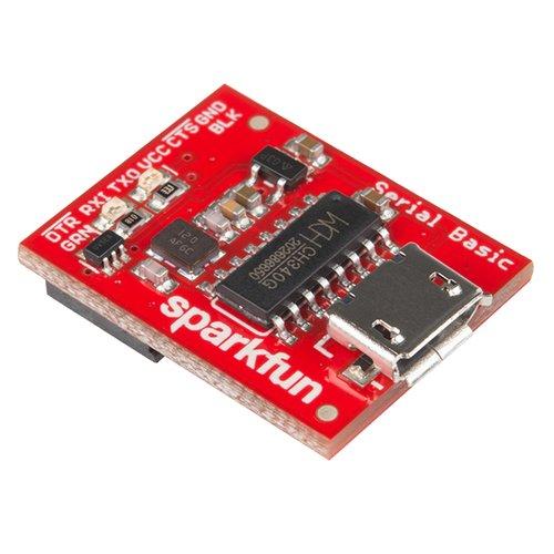 CH340G搭載 USBシリアル変換アダプタ