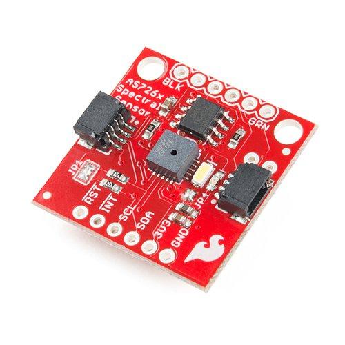 Qwiic - AS7262搭載 可視スペクトルセンサモジュール