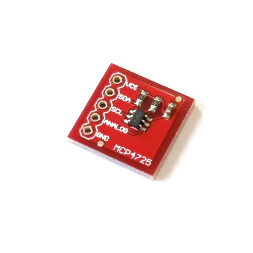 12ビットD/Aコンバータモジュール(MCP4725搭載) --販売終了