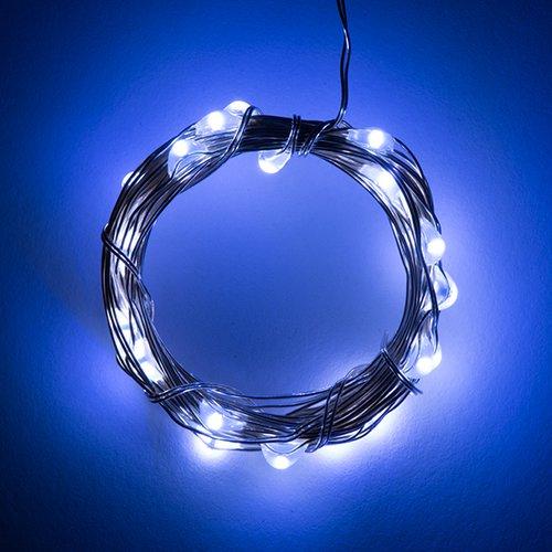 電源付きLEDテープ Fairy Lights - クールホワイト(2.5m)