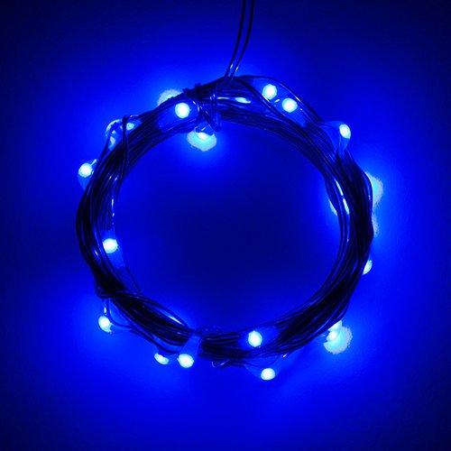 電源付きLEDテープ Fairy Lights - 青色(2.5m)