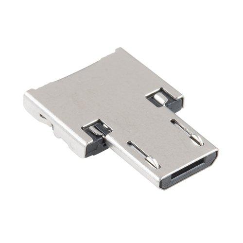 USBをMicro-Bへ変換するアダプタ
