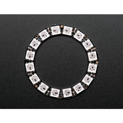 NeoPixel Ring - 16連フルカラーシリアルLED