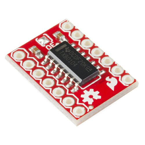 TXB0104搭載4CH双方向レベルコンバータ