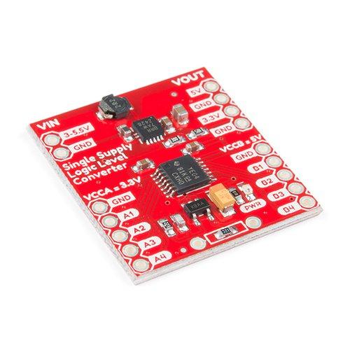 3.3Vと5Vを同時生成可能なロジックレベル変換モジュール(SparkFun製)