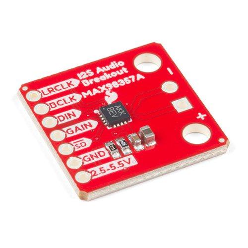 MAX98357A搭載 I2Sオーディオモジュール