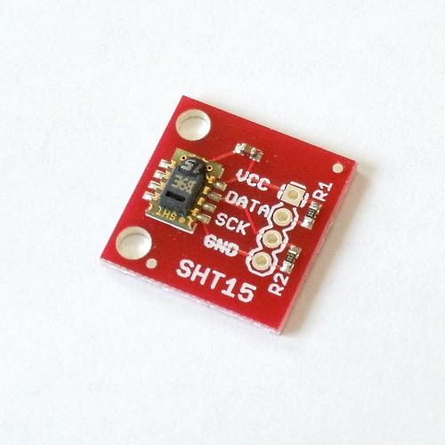 SHT15搭載温度湿度センサモジュール--販売終了