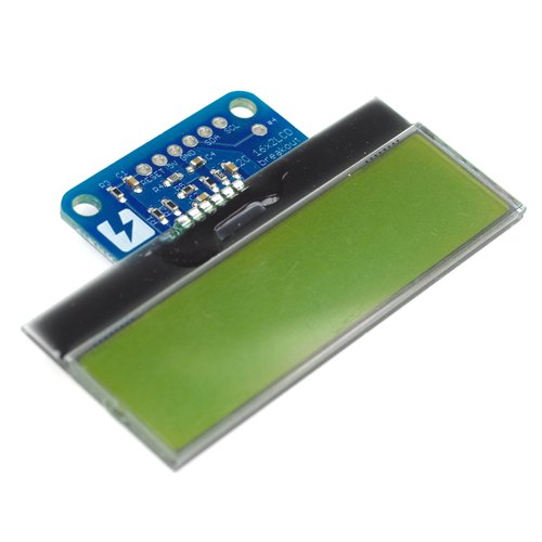 16x2 I2C液晶モジュール(水平タイプ)