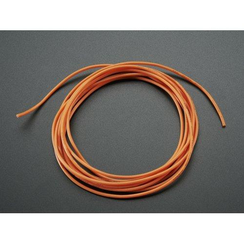シリコンワイヤー(2m・26AWG・橙)