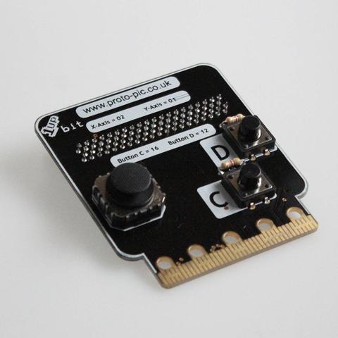 micro:bit用 1up:bitコントローラーキット--在庫限り