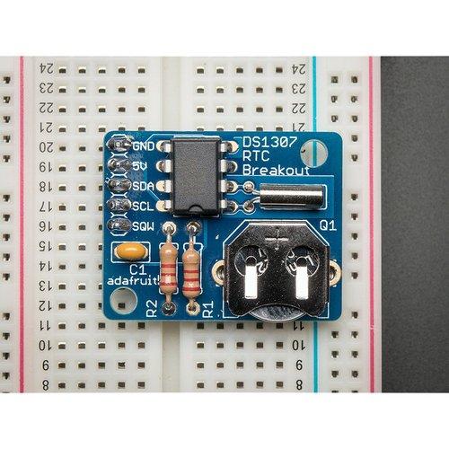 DS1307搭載リアルタイムクロックモジュール キット--在庫限り