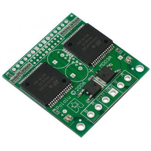デュアルモータードライバVNH2SP30(最大14A、電流センサ内蔵)