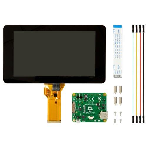 Raspberry Pi用 7インチ タッチスクリーン付き液晶ディスプレイ(RSコンポーネンツ製)