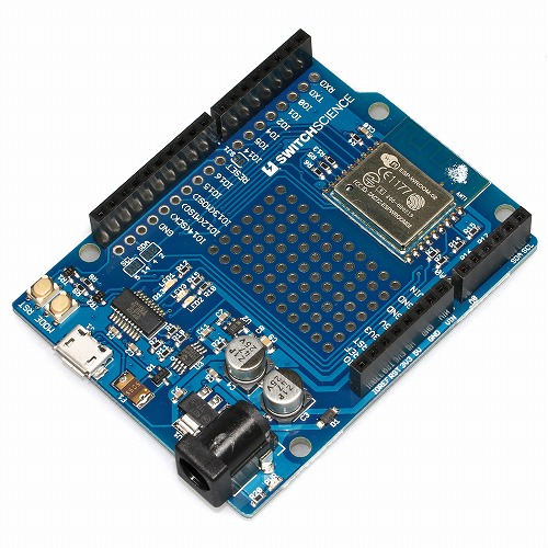 ESPr® One(Arduino Uno同一形状 ESP-WROOM-02開発ボード)