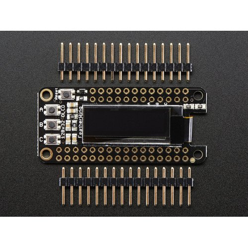 FeatherWing - 128 x 32 OLEDボード