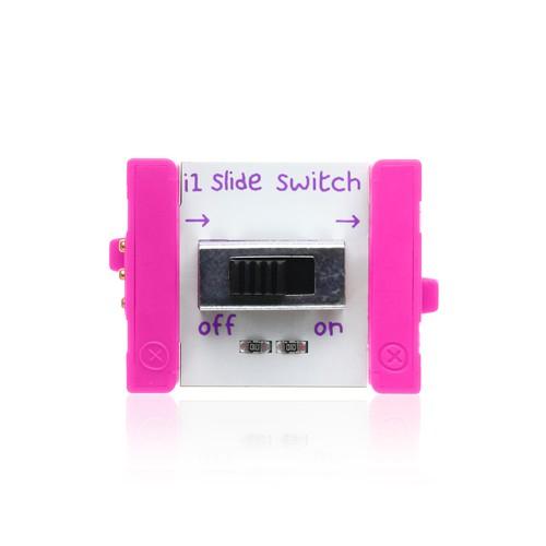 littleBits Slide Switch ビットモジュール