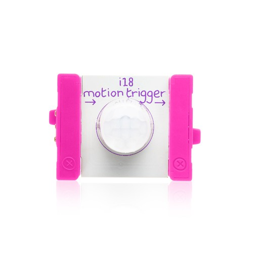 littleBits Motion Trigger ビットモジュール