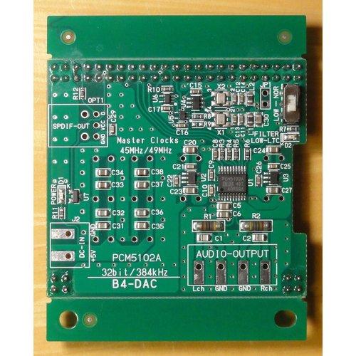 Beagle Bone 用 32bit DAC基板 B4-DAC