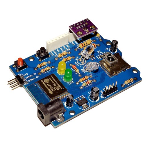 Wi-Fi + 赤外線 + 温度湿度センサ ホームIoT 「ESP-IR+TPH Monitor」(完成品)