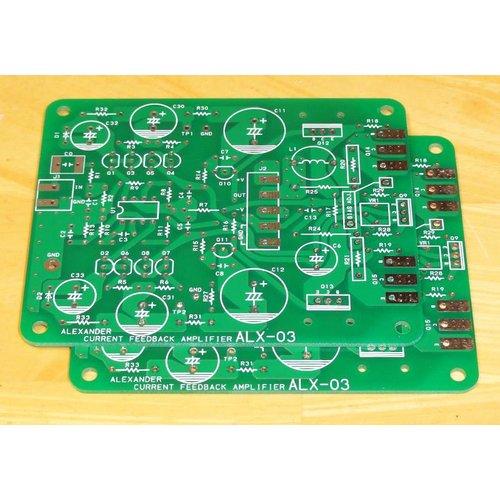アレキサンダー電流帰還パワーアンプ基板 ALX-03
