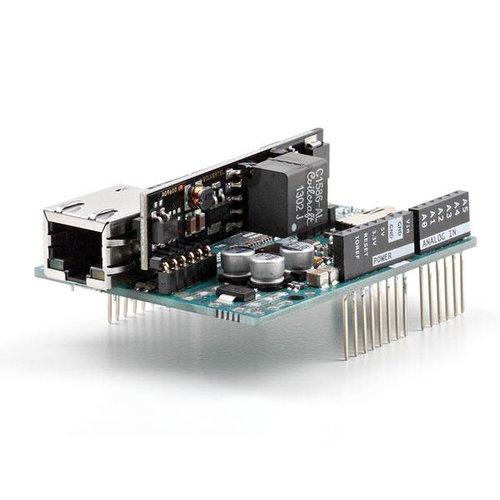 Arduino イーサネットシールド2(PoEモジュール付)