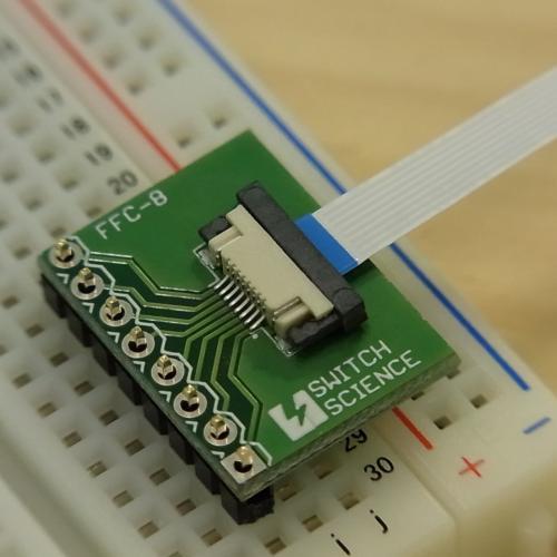FeliCa Plug ピッチ変換基板(フラットケーブル付き)--販売終了