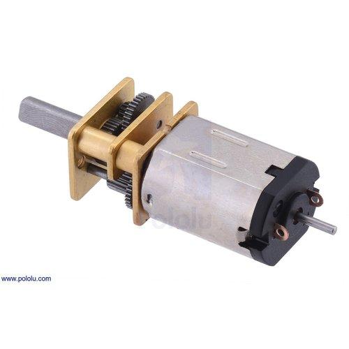 75:1 シャフト付き超小型メタルギアドモーター HPCB