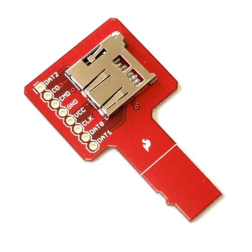 マイクロSDカード信号観察ツール