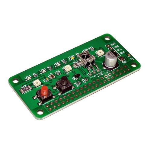 Raspberry Pi Zero用 赤外線 + 環境センサ 拡張ボード「RPZ-IR-Sensor」(端子未実装)