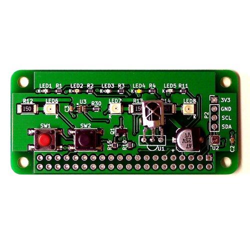 Raspberry Pi Zero用 赤外線 + 環境センサ ホームIoT 拡張ボード「RPZ-IR-Sensor」