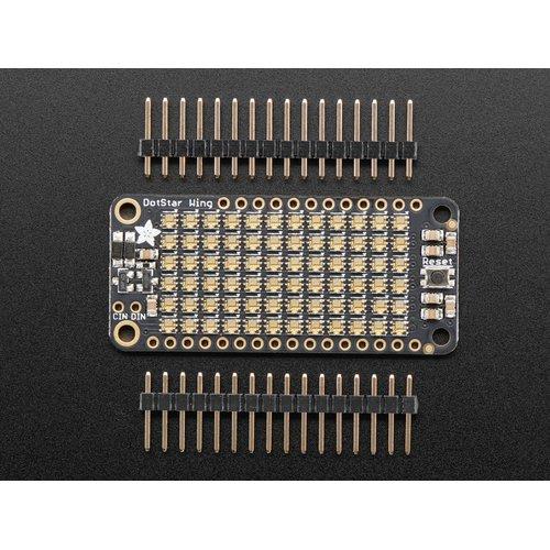 FeatherWing - DotStar 6 x 12 RGB LEDマトリクス