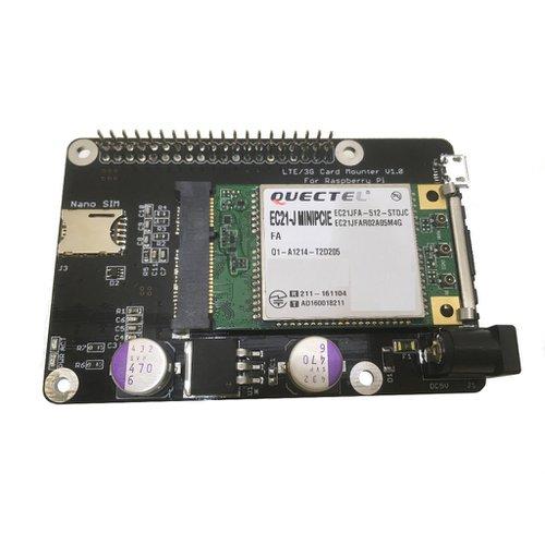 LTE/3G Card Mounter For Raspberry Pi