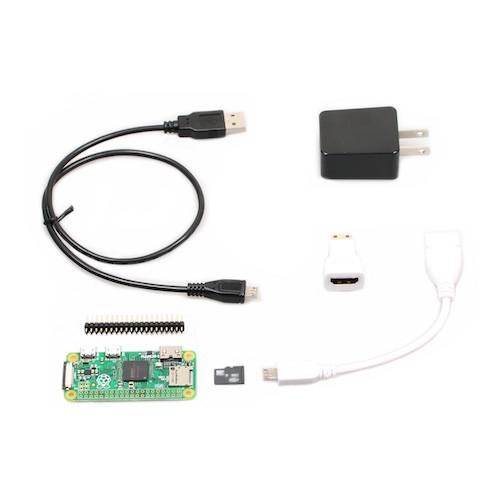 Raspberry Pi Zero v1.3 スターターキット(16GB版)