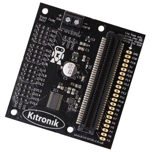 micro:bit用サーボドライバボード