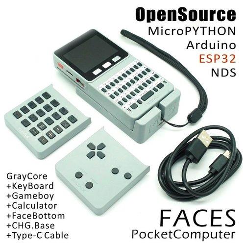 M5Stack Faces(9軸IMU搭載、各種カバー付き)