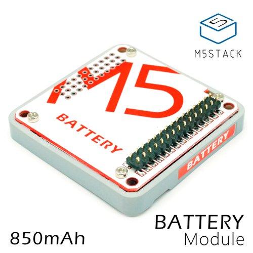 M5Stack用電池モジュール