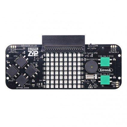 :GAME ZIP 64 - micro:bit用ゲームパッド拡張基板