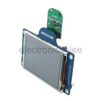 Arducam LFシールド V2(2メガピクセルカメラ、3.2インチ液晶付き)